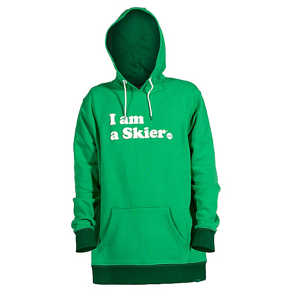 Line I Am A Skier Mens Hoodie, , 600