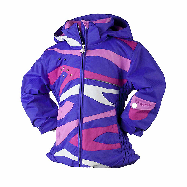 Obermeyer Kismet Toddler Girls Ski Jacket, Grape, 600