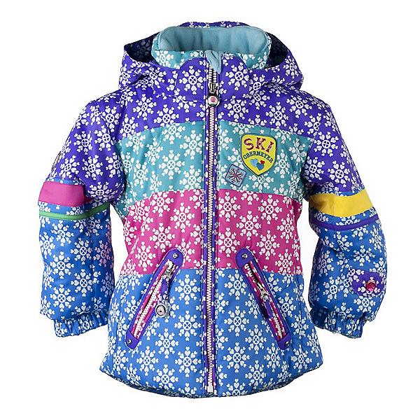 Obermeyer Posh Toddler Girls Ski Jacket, Multi Snowflake, 600