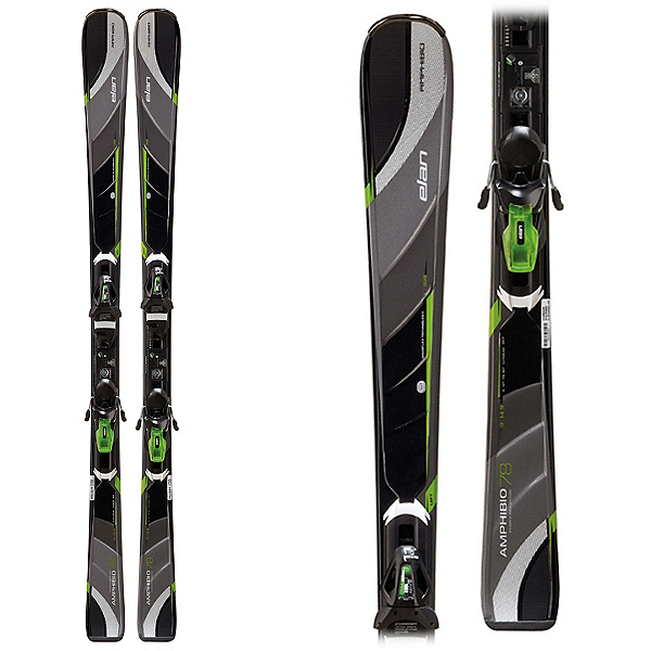 Elan Amphibio 78 Fusion Skis with EL 11.0 Fusion Bindings, , 600