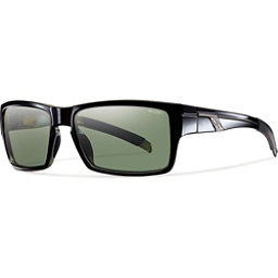 Smith Mastermind Polarized Sunglasses, Black-Polarized Gray Green, 256