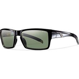 Smith Mastermind Polarized Sunglasses, Black-Polarized Gray Green, 256