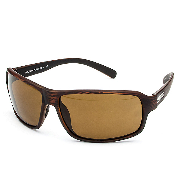 SunCloud Tailgate Sunglasses, Burnished Brown-Brown Polarized, 600