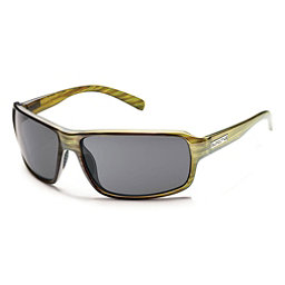SunCloud Tailgate Sunglasses, Green Stripe-Gray Polarized, 256