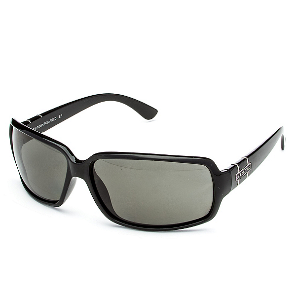 SunCloud Poptown Sunglasses, Black-Gray Polarized, 600