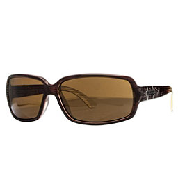 SunCloud Poptown Sunglasses, Brown Stripe Laser-Brown Polarized, 256