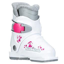 Rossignol R18 Girls Ski Boots, White, 256