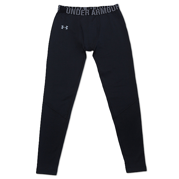 Under Armour EVO CG Infrared Legging Mens Long Underwear Pants, Black, 600