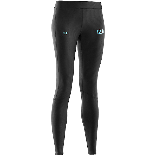 Under Armour Base 2.0 Leggings Womens Long Underwear Pants, Black, 600