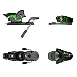 Salomon Z12 Ski Bindings, Black-Green, 256