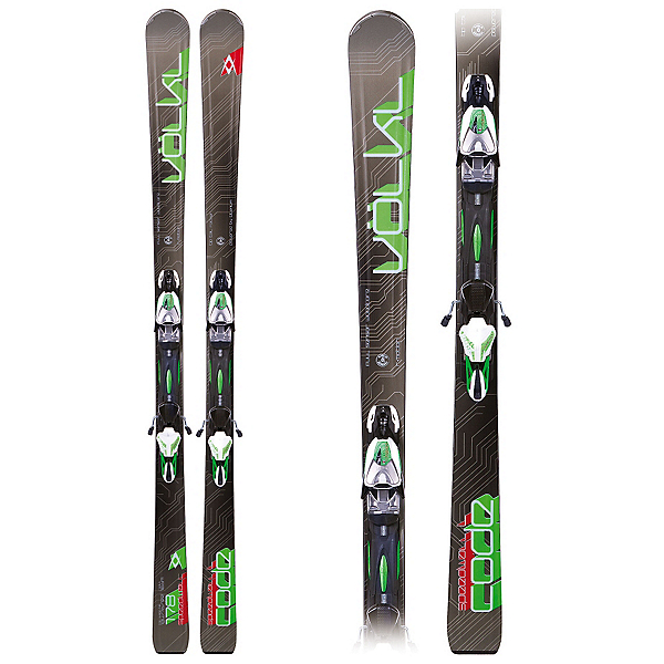 Volkl Code Speedwall L Skis with rMotion 12.0 Bindings, , 600