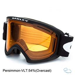 Oakley O2 XL Goggles 2018, Matte Black-Persimmon, 256