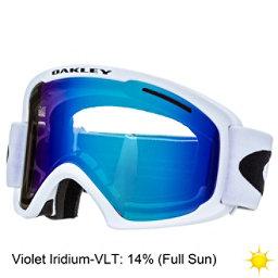Oakley O2 XL Goggles 2018, Matte White-Violet Iridium, 256