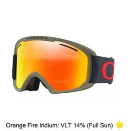Oakley O2 XL Goggles 2018, Canteen Iron-Fire Iridium, 256