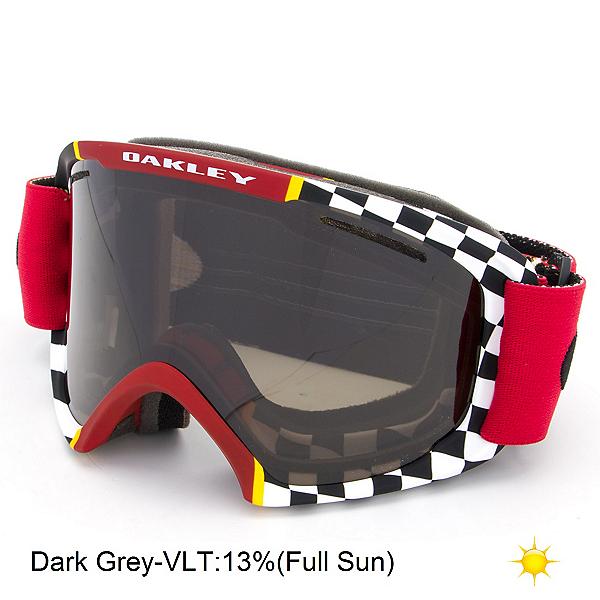 Oakley O2 XL Goggles, Flight Series Mustang-Dark Gre, 600