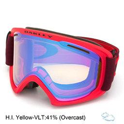 Oakley O2 XL Goggles, Red Rhone-Hi Yellow, 256
