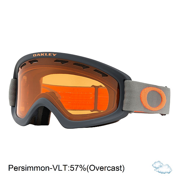Oakley O2 XS Kids Goggles, Forged Iron Brush-Persimmon, 600