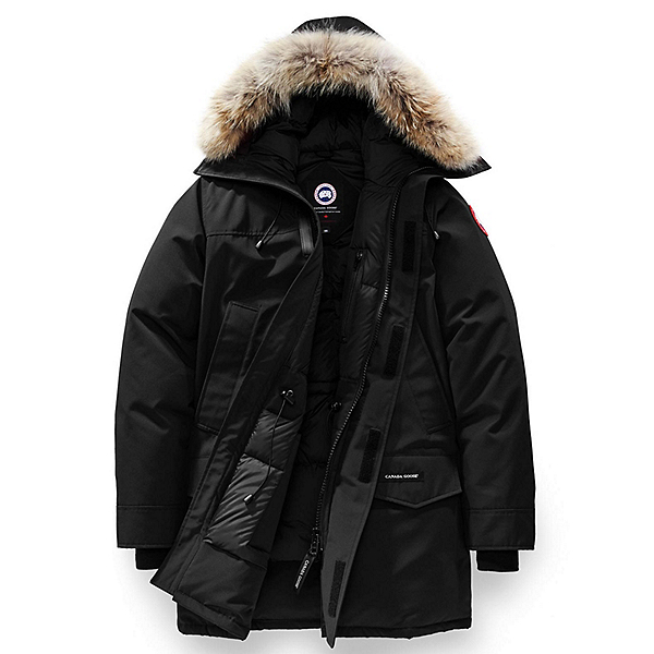 Canada Goose Langford Parka Mens Jacket, Black, 600