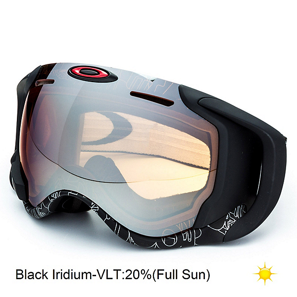 oakley apple ski goggles