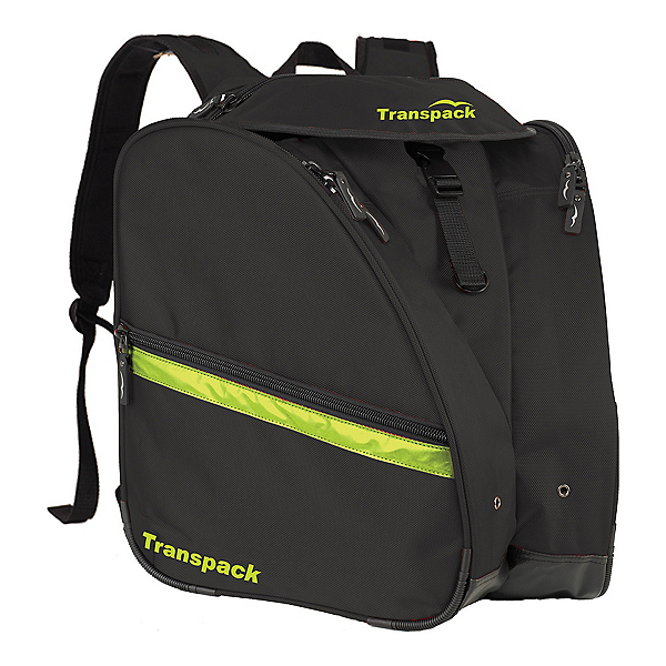 Transpack XT Pro Ski Boot Bag 2020, Black-Yellow Electric, 600