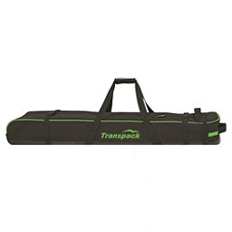 Transpack Ski Vault Double Pro Wheeled Ski Bag 2018, Black-Lime Electric, 256