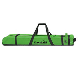 Transpack Ski Vault Double Pro Wheeled Ski Bag 2018, Glen Plake Lime, 256