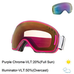 Scott LCG Goggles, Grey Pink-Purple Chrome + Bonus Lens, 256