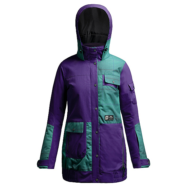 Orage Bala Womens Insulated Ski Jacket, Iris, 600