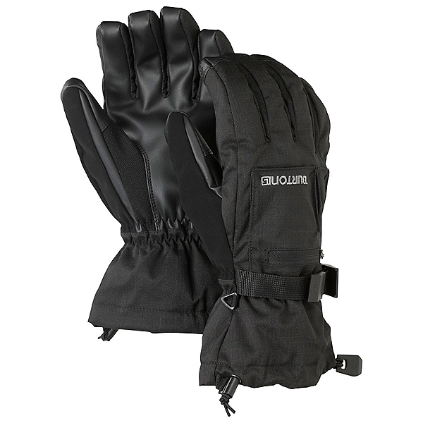 Burton Baker 2 in 1 Touchscreen Gloves, True Black, 600