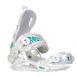 Roxy Rock-It Blast Womens Snowboard Bindings, White, 256