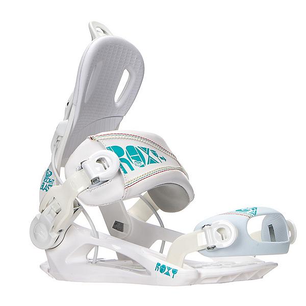 Roxy Rock-It Blast Womens Snowboard Bindings, White, 600
