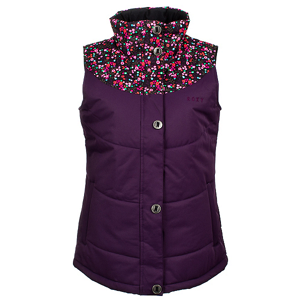 Roxy Dice Womens Vest, Blackberry Cordial, 600