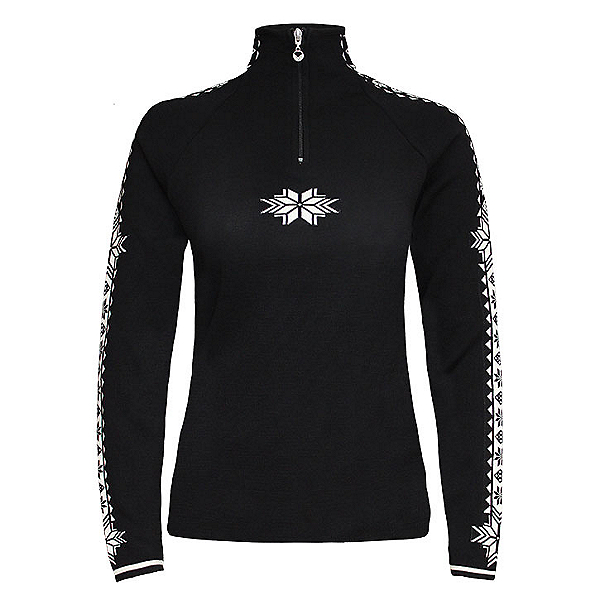 Dale Of Norway Geilo Womens Sweater, Black-Offwhite, 600