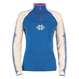 Dale Of Norway Geilo Womens Sweater, Cobalt-Offwhite-Allium, 256