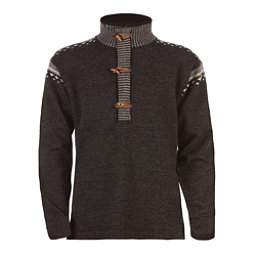 Dale Of Norway Finnskogen Windproof Mens Sweater, Dark Charcoal-Smoke-Off White, 256