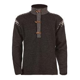 Dale Of Norway Finnskogen Windproof Mens Sweater, Dark Charcoal-Smoke-Off White, 256