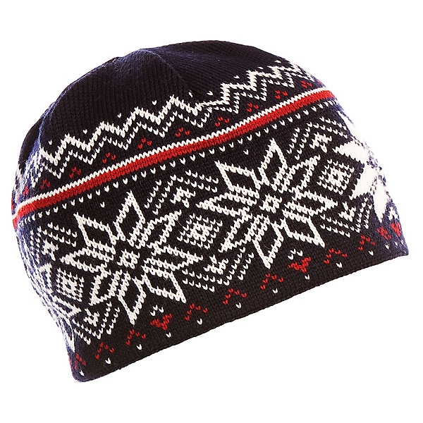 Dale Of Norway Holmenkollen Hat, Navy-Off White-Red Rose, 600