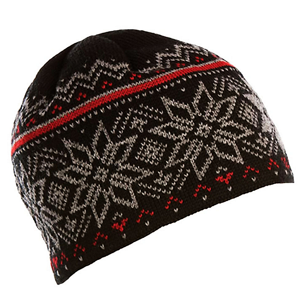 Dale Of Norway Holmenkollen Hat, Black-Smoke-Red Rose, 600