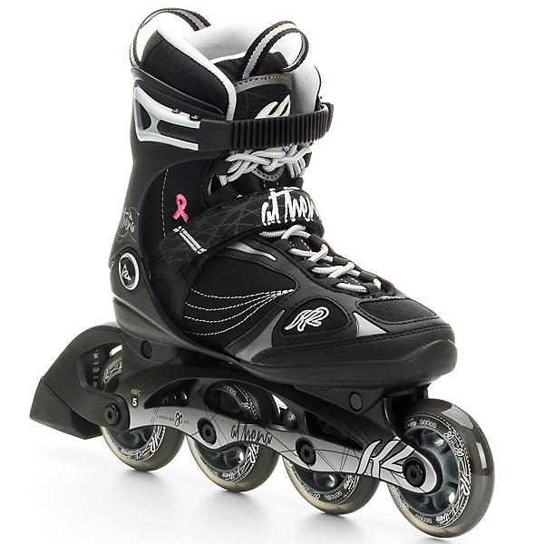K2 Athena Womens Inline Skates, Black-Silver, 600