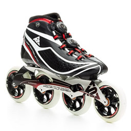 K2 Pro Longmount Race Inline Skates, Black-Red-White, 256