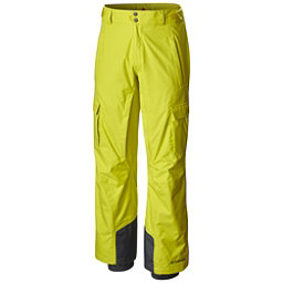 Columbia Ridge 2 Run II Big Mens Ski Pants, Acid Yellow, 256