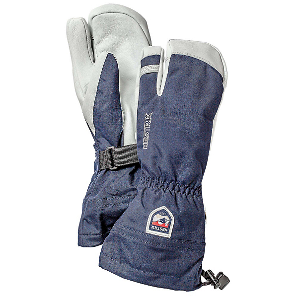 Hestra Heli 3 Finger Gloves, Navy, 600