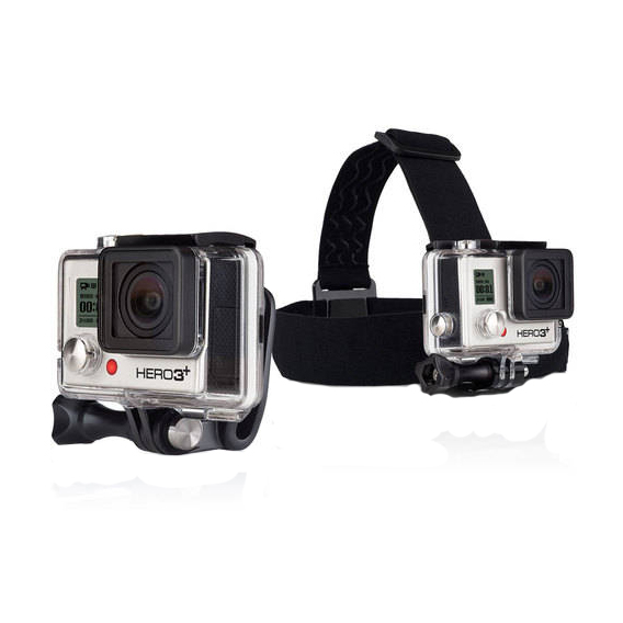 GoPro Head Strap Mount and Quick Clip im test