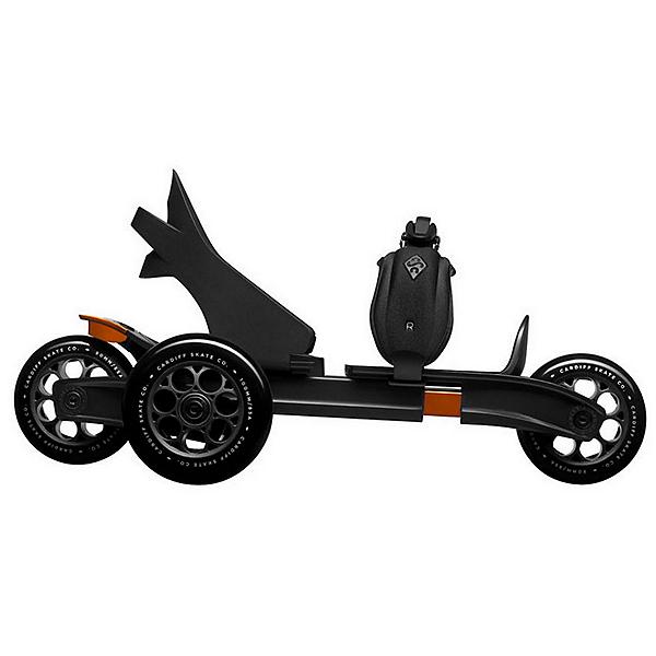 Cardiff S1 Skates, Black-Orange, 600