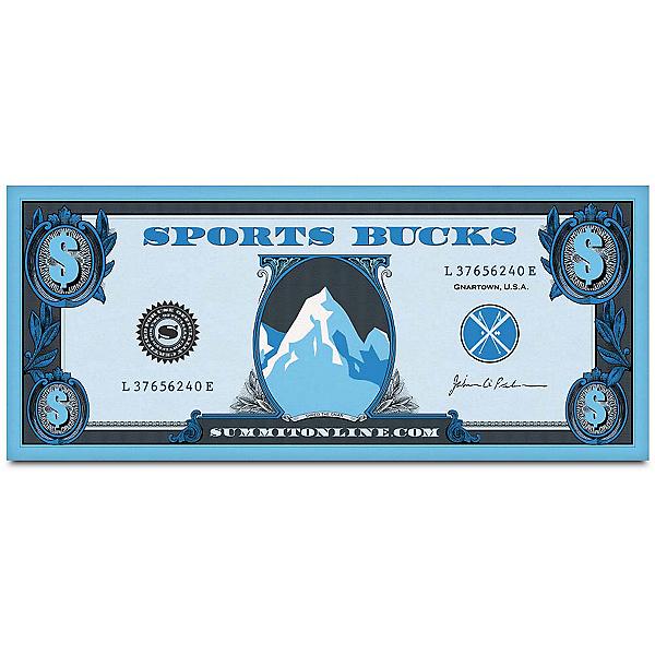 $25 Sports Bucks, , 600