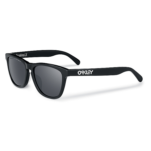 Oakley Frogskins LX Polarized Sunglasses, Polished Black, 600