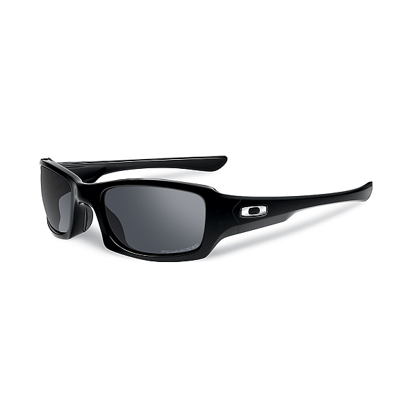 Oakley Fives Squared Polarized Sunglasses, Polished Black, 600