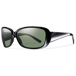 Smith Shorewood ChromaPop Womens Sunglasses, Black-Polar Gray Green, 256