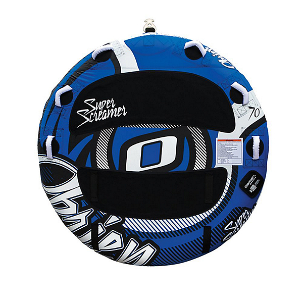 O'Brien Super Screamer Towable Tube 2018, Blue-Black, 600