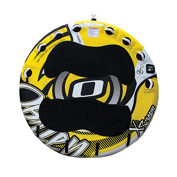 O'Brien X-Scream Towable Tube 2018, Yellow-Black, 600